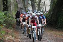 Oblíbené Babí léto představovalo jeden z vrcholů letošního cyklistického seriálu Cykloman 2011. Na start se postavilo 90 bikerů.