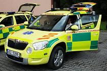 Záchranná služba v Moravské Třebové si v úterý převzala nové auto.