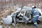 Smrtelná nehoda u Litomyšle.