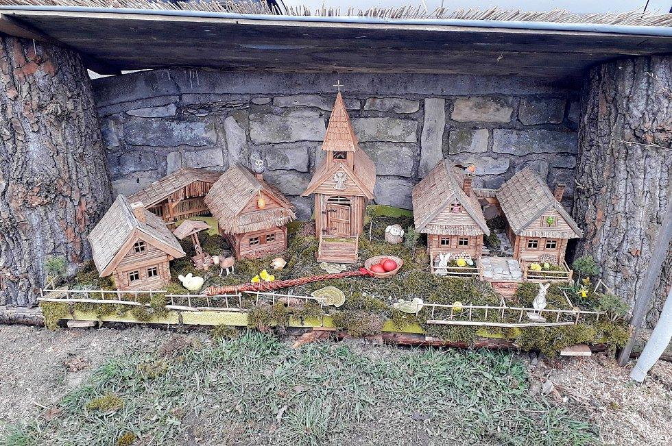 Velikonoční betlém v Dolním Újezdu