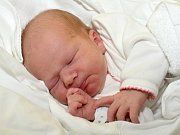 MAREK NOVOTNÝ. Narodil se 1. dubna Gabriele a Tomášovi z Třebařova. Měřil 49 centimetrů a vážil 3,15 kilogramu.