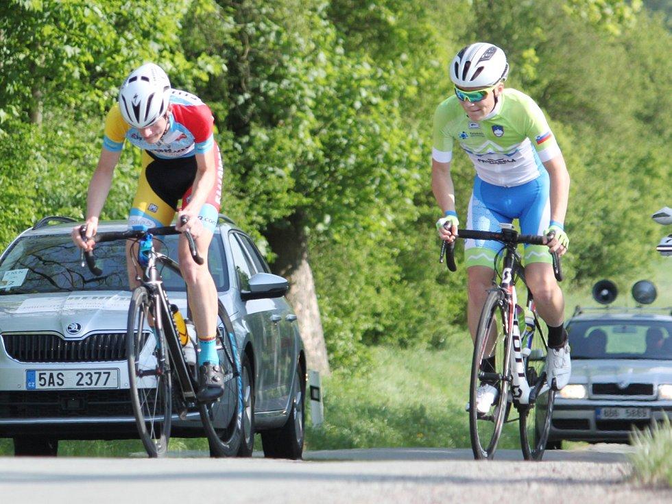 Pět májových etap v Jevíčku a okolí prověřilo výkonnost mladých cyklistů z jedenácti evropských zemí.