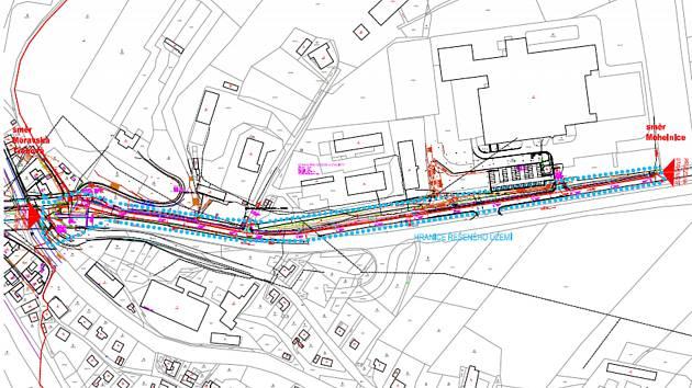 Kombinovaná cyklostezka propojí střed města s průmyslovou zónou u Linhartic. První etapa by měla být dokončená ještě letos.