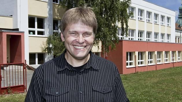 Starosta Dolního Újezdu Stanislav Hladík