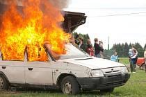 Oslavy výročí založení Sboru dobrovolných hasičů v Jedlové.