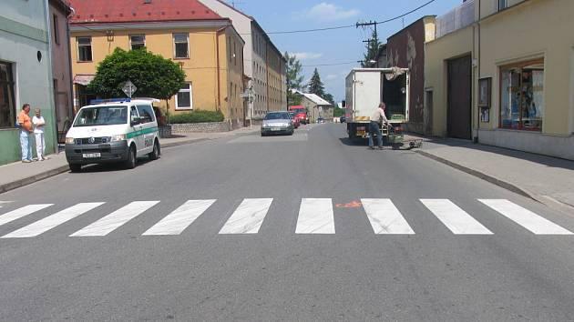 Na přechodu v Moravské Třebové byla sražena žena