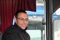 Řidič autobusu ve firmě Transcentrum