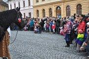 Tříkrálový průvod v Mnichově Hradišti.