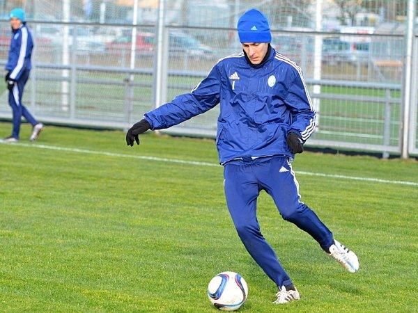 Jan Kalabiška se po svém přestupu ze Senice zapojil do přípravy FK Mladá Boleslav.