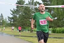 Olympijský běh v Bakově nad Jizerou.