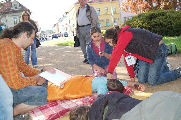 Děti ze základních škol zachraňovaly životy v Mladé Boleslavi