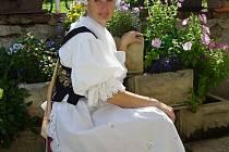 Monika Čapková ze souboru Furiant.