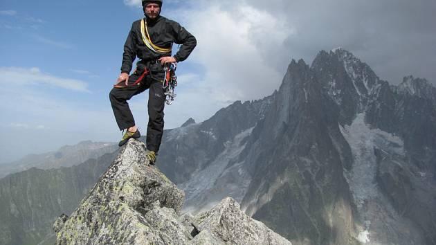 Petr Mašek na jedné ze svých výprav.