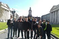 Už několik let jezdí žáci třetího ročníku na praxi do Anglie a do Irska v rámci projektu Erasmus +.