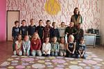 Žáci 1. třídy ZŠ Březno