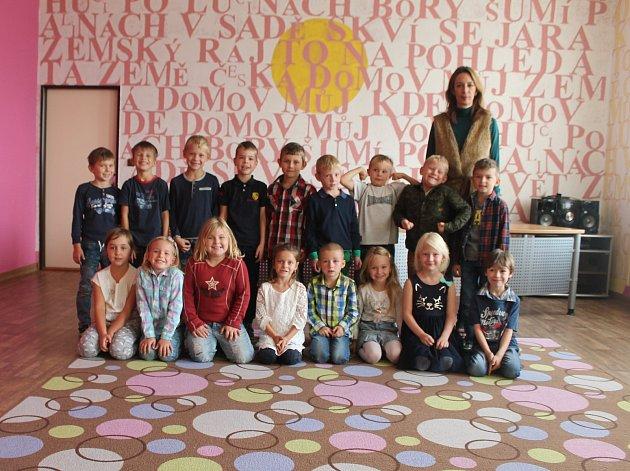 Žáci 1.třídy ZŠ Březno