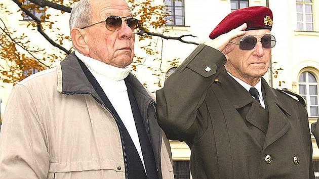 Jaroslav Šámal (vlevo) je čestným občanem Mladé Boleslavi.