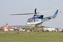 ilustrace vrtulník