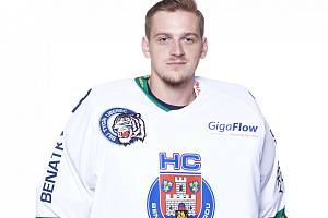 Jakub Hrstka, brankáře HC Benátky nad Jizerou