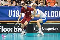 Adam Hemerka začínal s fotbalem, poté přesedlal na florbal a udělal dobře - ve sbírce má kromě extraligového titulu s Mladou Boleslaví také zlato z mistrovství světa juniorů.