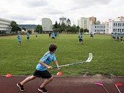 Florbalový Camp přilákal v Boleslavi 133 dětí.