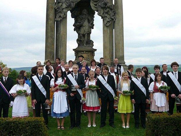 Staročeské máje jsou jednou z tradic, které se v Hlavenci udržují.