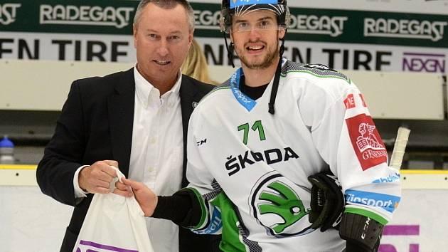 Tomáš Hyka (vpravo) s Cyrilem Sukem