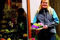 Květinářka Blanka Bajrová z Bělé