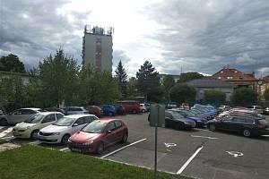 Parkoviště u Domu kultury