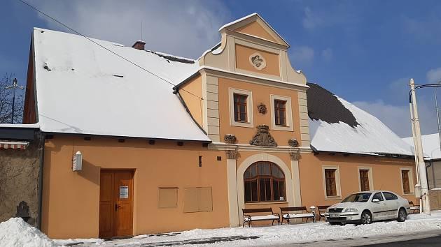 Obec Písková Lhota.