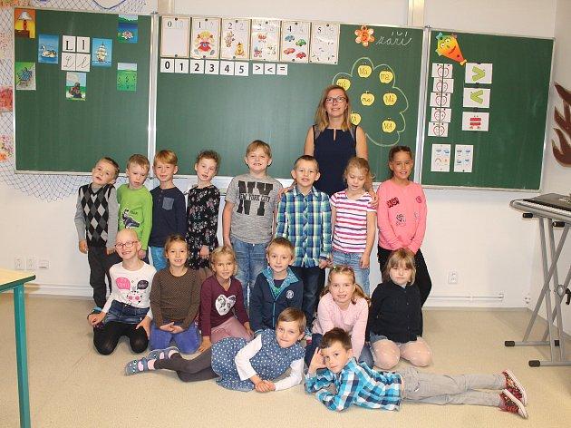 Žáci 1.třídy ZŠ Kněžmost