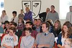 Vyhlášení prvního ročníku ankety Sportovec města Bakov nad Jizerou.