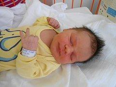 KATEŘINA Loudová se narodila jako první miminko v novém roce 1. ledna 2014, vážila 3,57 kilogramů a měřila 50 centimetrů.
