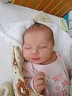 Anežka Krajníková se narodila 24. září, vážila 3,33 kg a měřila 49 cm. S maminkou Klárou a tatínkem Petrem bude bydlet v Mladé Boleslavi, kde už se na ni těší bráška Vašík.