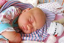 Anežka Mouchová se narodila 23. září, vážila 4,21 kg a měřila 55 cm. S maminkou Eliškou a tatínkem Ladislavem bude bydlet v Ptýrově, kde už se na ni těší sourozenci Karolínka a Láďa.
