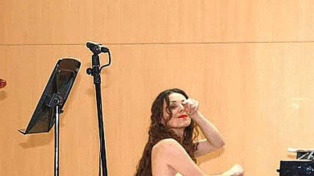 Klavíristka Zuzana Berešová