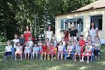Děti z jednotřídní MŠ Na Kopečku