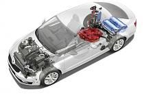 Škoda Octavia G-TEC ukrývá dvě nádrže - benzínovou a na stlačený zemní plyn.