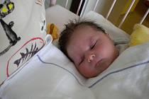 ELIŠKA Bečvárovská se narodila 14. ledna. Vážila 4,03 kilogramů a měřila 52 centimetrů. S maminkou Naďou a tatínkem Jiřím bude bydlet v Mladé Boleslavi.