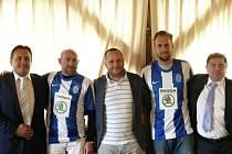 Zleva Josef Dufek, Jiří Štajner, Jiří Müller, Antonín Rosa a Aleš Juranka