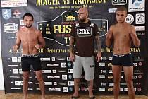 Vrcholem galavečera Fusion FN 2 v Mladé Boleslavi bude souboj Filipa Macka s ruským Vladimirem Karasiovem.