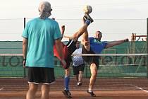 Ze zápasu SA Kolomuty proti NK Benátky nad Jizerou