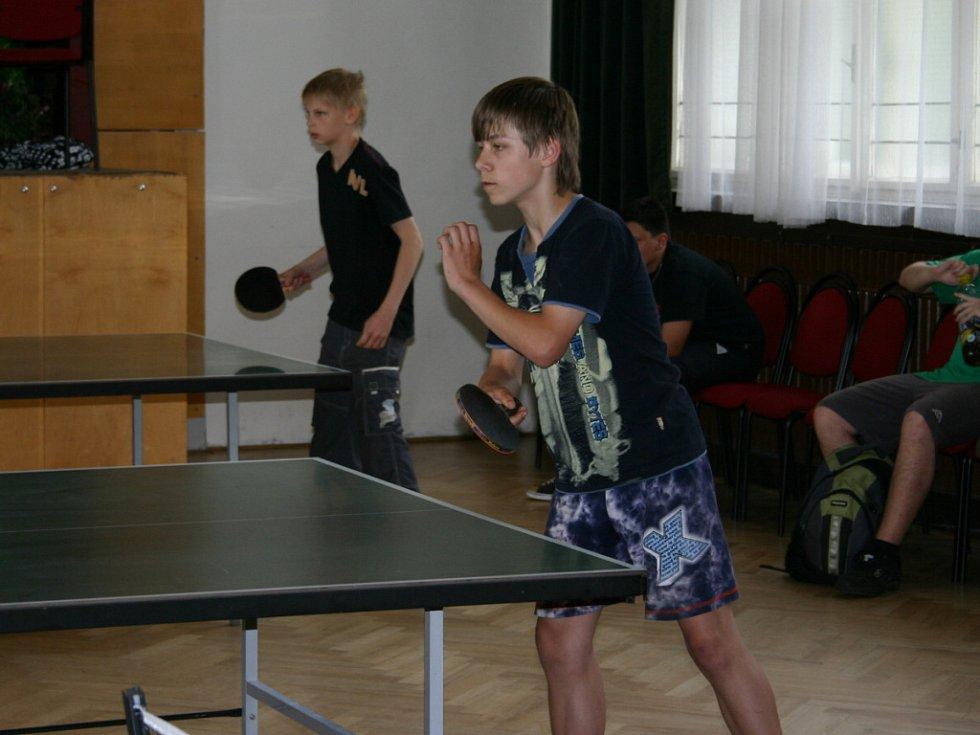 Turnaj žáků ve stolním tenise