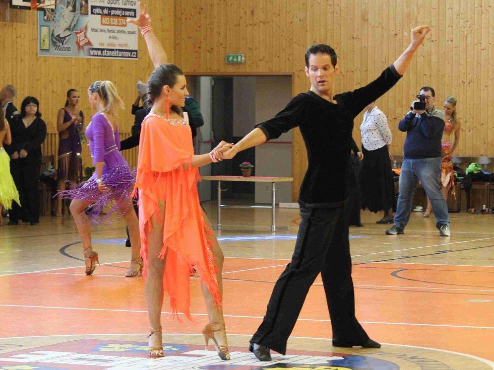 Benátecký pohár 2015, soutěž ve standardních a latinskoamerických tancích