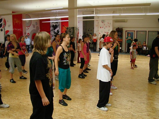 Taneční show byla pěknou tečkou za Protančeným létem.