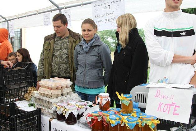 Studentské farmářské trhy v Horkách nad Jizerou