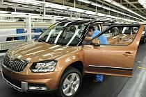 Výroba nového SUV značky Škoda, který se v Říši středu prodává pod jménem 'Ye Di', probíhá ve spolupráci se společností Shanghai Volkswagen.