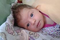 KRISTÝNKA Hyblerová se narodila 9. prosince, vážila 3,45 kilogramů a měřila 50 centimetrů. S maminkou Dominikou a tatínkem Michalem bude bydlet v Mladé Boleslavi.
