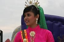 Indonéská tanečnice.