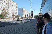 Prostor okolo Bondy centra, Škoda Muzea a autobusového nádraží ovládla v sobotu dopoledne rychlostní zkouška.